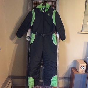 VTG 80s Snowmobile Snowsuit snowpants